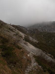 Lungo le ghiaie delle valle