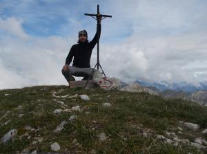 Cima Palantina, 2190 metri slm