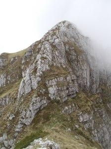 Cresta che porta sul Colombera