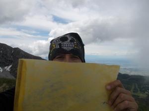 Cima Colombera, 2066 metri slm