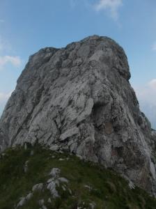 Cresta che porta alla cima