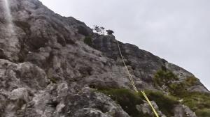 Michele in calata dalla cima della Torre Latina