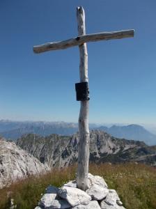 Croce di vetta del Guslon