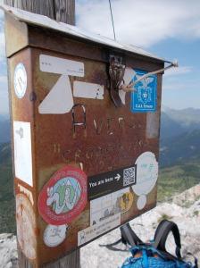 Cima Averau, 2649 metri slm