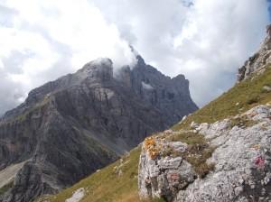 Salendo il monte Coldai