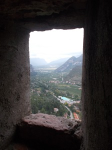 Vista verso la valle del Sarca