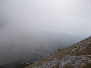 Le nubi non mostrano panorami