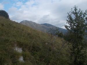 Monte Candole e monte Sauc