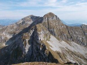 Cimon del Cavallo (o Cima Manera) e cima Laste