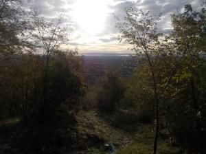 Vista verso valle dalla Madonnina