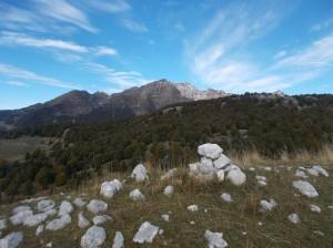 Gruppo del Monte Cavallo dal Col Ceschet