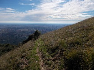 Rientro verso valle sempre lungo il Viath Luonc