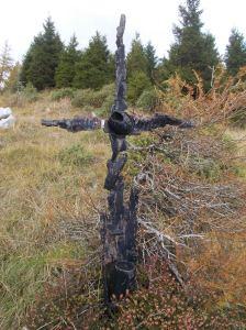 La croce dove venne ferito a morte Maso