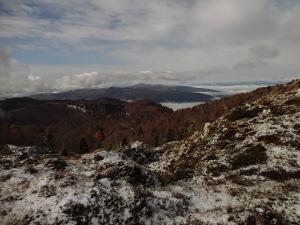 Vista verso il Cansiglio e l'Alplago