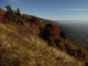 Fra montagna e pianura, vista verso Est