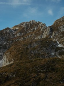 Monte Colombera e la sua cresta Est