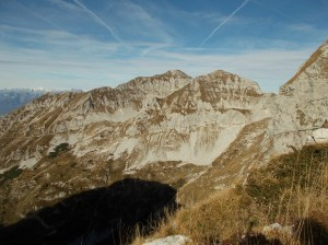 Rifugio Semenza, Cornor, Castelat, cima Vacche