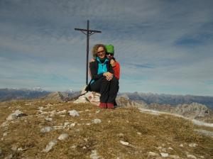 Cimon di Palantina, 2190 metri slm