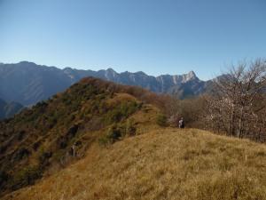 La dorsale del Monte Lupo