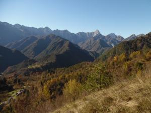 Panorama verso Ovest