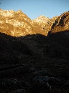 Sorgente Tornidor e il monte Caulana