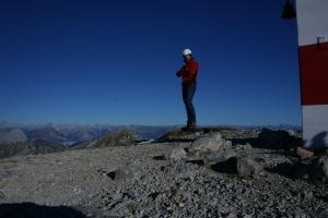 Autoscatto sulla Cima Manera, 2251 metri slm