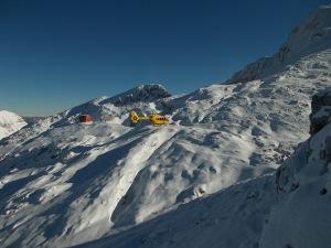 """Richiamato, verso l'elisoccorso e gli """"angeli"""" del soccorso alpino"""