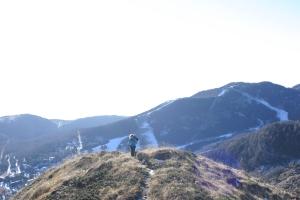 Salendo verso il Cimon dei Furlani