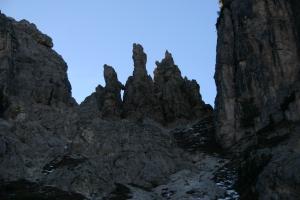 Pinnacoli sul Col delle Bisse