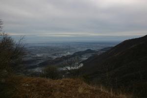 Magnifico panorama dalla Lobia