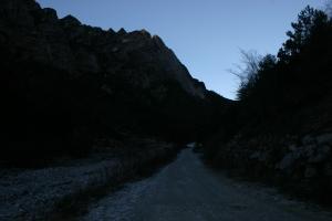 La strada che porta alla casera