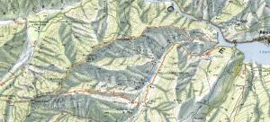 Mappa dell'escursione