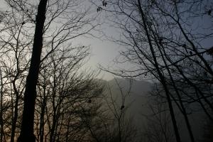 Scorci verso la dorsale del monte Laura