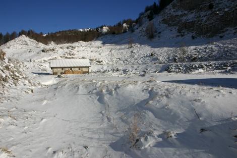Casera Val de Friz (o casera della Valle Friz)