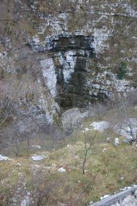 Forra del torrente Cunaz