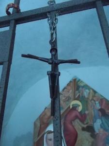 Particolare di un Cristo nella cappelletta