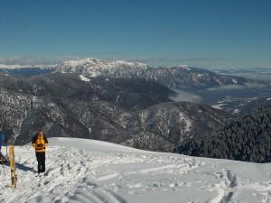 Le dolci vallate austriache dalla cima e il Dobratsch