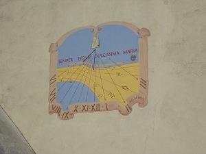 Meridiana del campanile