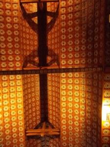 Il soffitto della chiesa
