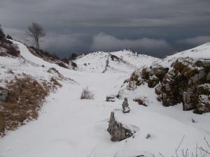 Da Busa Bravin, panorama verso Sud-Est