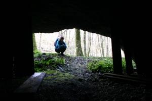 Dentro a una delle grotte