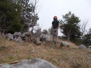 Sulla cima del Torrione