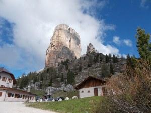 Torre Grande dal rifugio Cinque Torri
