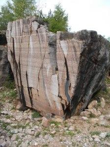 Incredibile colore del marmo