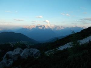 Panorama sul Cridola e sugli Spalti di Toro