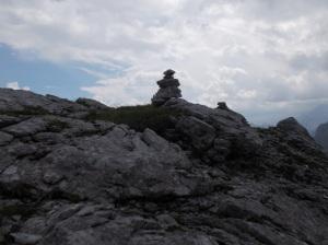 Ometto sulla cresta