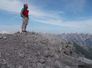 Cima Cadin, 2313 metri slm