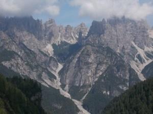 Val Montanaia e il famoso Campanile