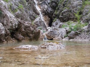 La cascata di casera Casavento