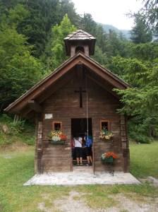 La chiesetta della Pussa